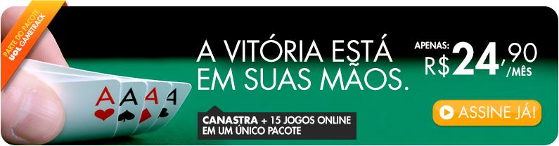 Canastra + 15 Jogos Online num único pacote