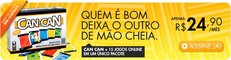 Can-Can + 15 Jogos Online num único pacote