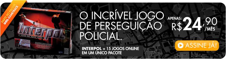 Interpol + 15 Jogos Online num único pacote