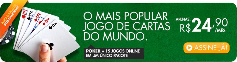 Poker + 15 Jogos Online num único pacote