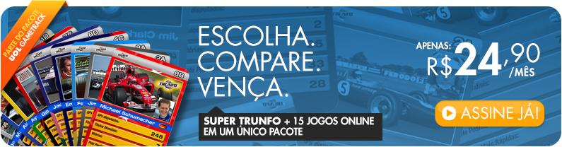 Super Trunfo + 15 Jogos Online num único pacote