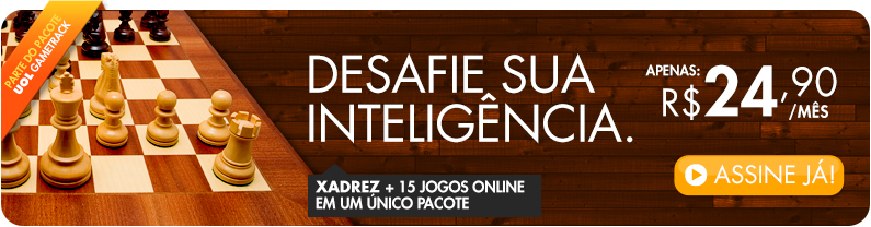 Xadrez + 15 Jogos Online num único pacote
