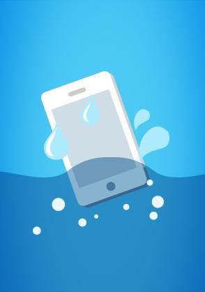 Por água abaixo: Como salvar seu smartphone que caiu na água