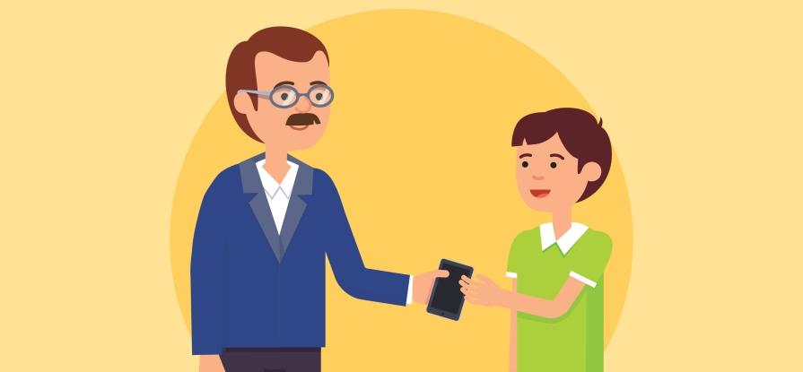 5 cuidados que você deve ter ao dar tablets e smartphones aos seus filhos