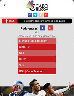 Como acessar EI Plus - Passo 2 - Mobile Android | UOL Esporte Clube