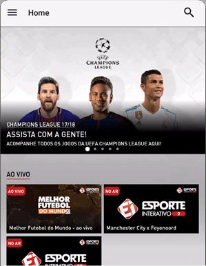 Como acessar EI Plus - Passo 4 - Mobile Android | UOL Esporte Clube