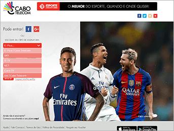 Como acessar Ei Plus - Passo 1 - Desktop | UOL Esporte Clube