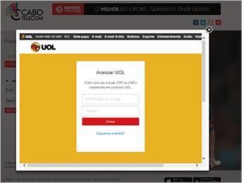 Como acessar Ei Plus - Passo 2 - Desktop | UOL Esporte Clube