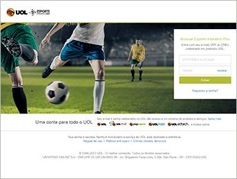 Como acessar Ei Plus - Passo 3 - Desktop | UOL Esporte Clube
