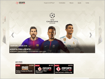 Como acessar Ei Plus - Passo 4- Desktop | UOL Esporte Clube