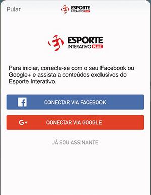 Como acessar EI Plus - Passo 1 - Mobile IOS | UOL Esporte Clube