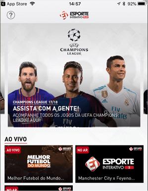 Como acessar EI Plus - Passo 4 - Mobile IOS | UOL Esporte Clube