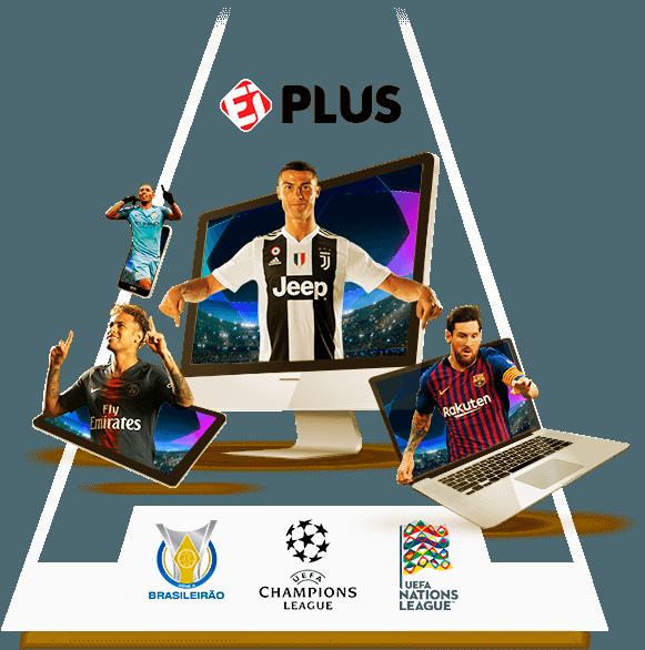 Assista Ei plus   Liga dos Campeões, Brasileirão e muito mais   UOL Esporte Clube