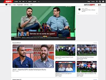 Como acessar ESPN - Passo 4 - Desktop | UOL Esporte Clube