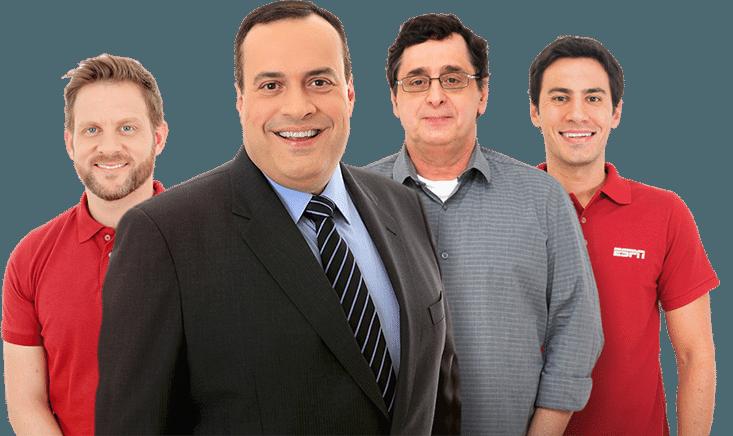 Acompanhe os programas da ESPN | UOL Esporte Clube