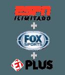 UOL FOX SPORTS + ESPN ILIMITADO + EI PLUS