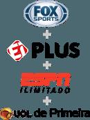 UOL FOX SPORTS + ESPN ILIMITADO + EI PLUS + DE PRIMEIRA - 7 Dias grátis