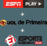 ESPN PLAY + ESPORTE INTERATIVO + UOL CONTEÚDO