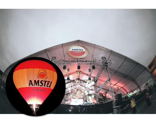 Ativações em eventos CarnaUOL: Lounge Amstel (SP) e Balão Selfie nas Alturas (RJ)