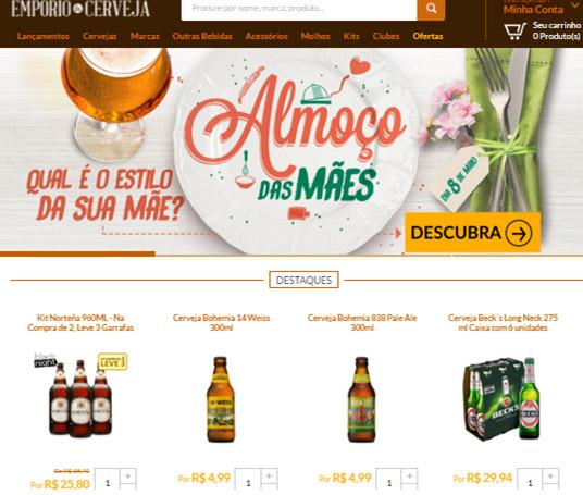 Mapeamento do site de e-commerce do cliente com tagueamento para identificação de visitantes