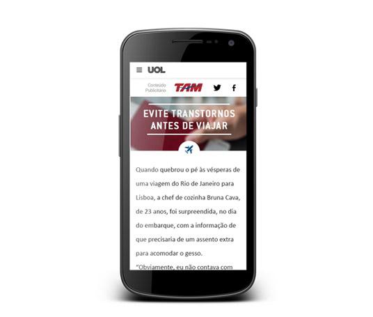 Versão desenvolvida para mobile