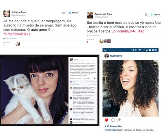 Amplificação da campanha com apoio de influenciadores em suas redes sociais